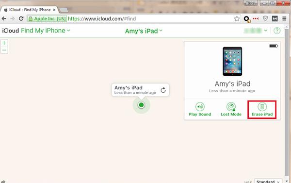 iPad löschen