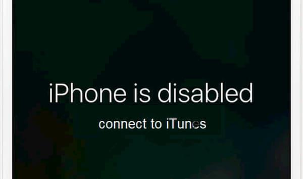 修復iPhone已禁用錯誤