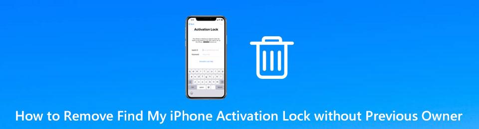 Come rimuovere il blocco di attivazione di Trova il mio iPhone senza proprietario precedente