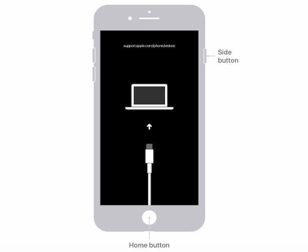iPhone 6s恢復模式