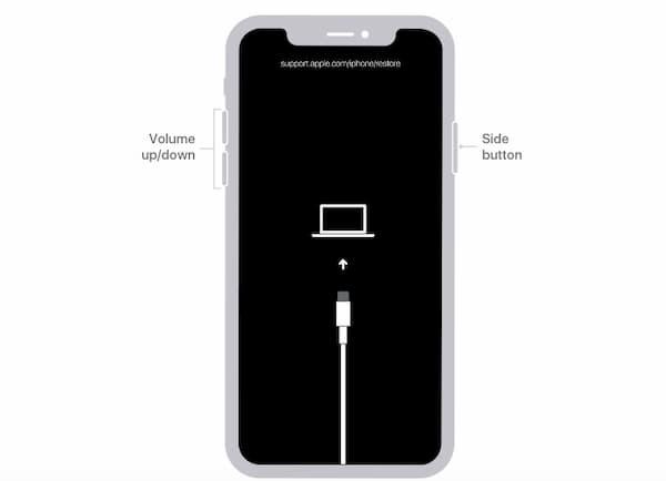 iPhone x Wiederherstellungsmodus