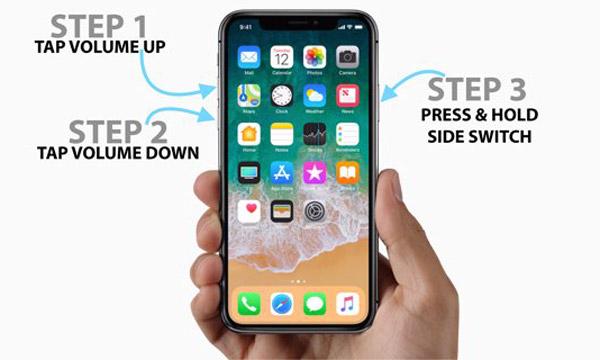強行重啟iphone