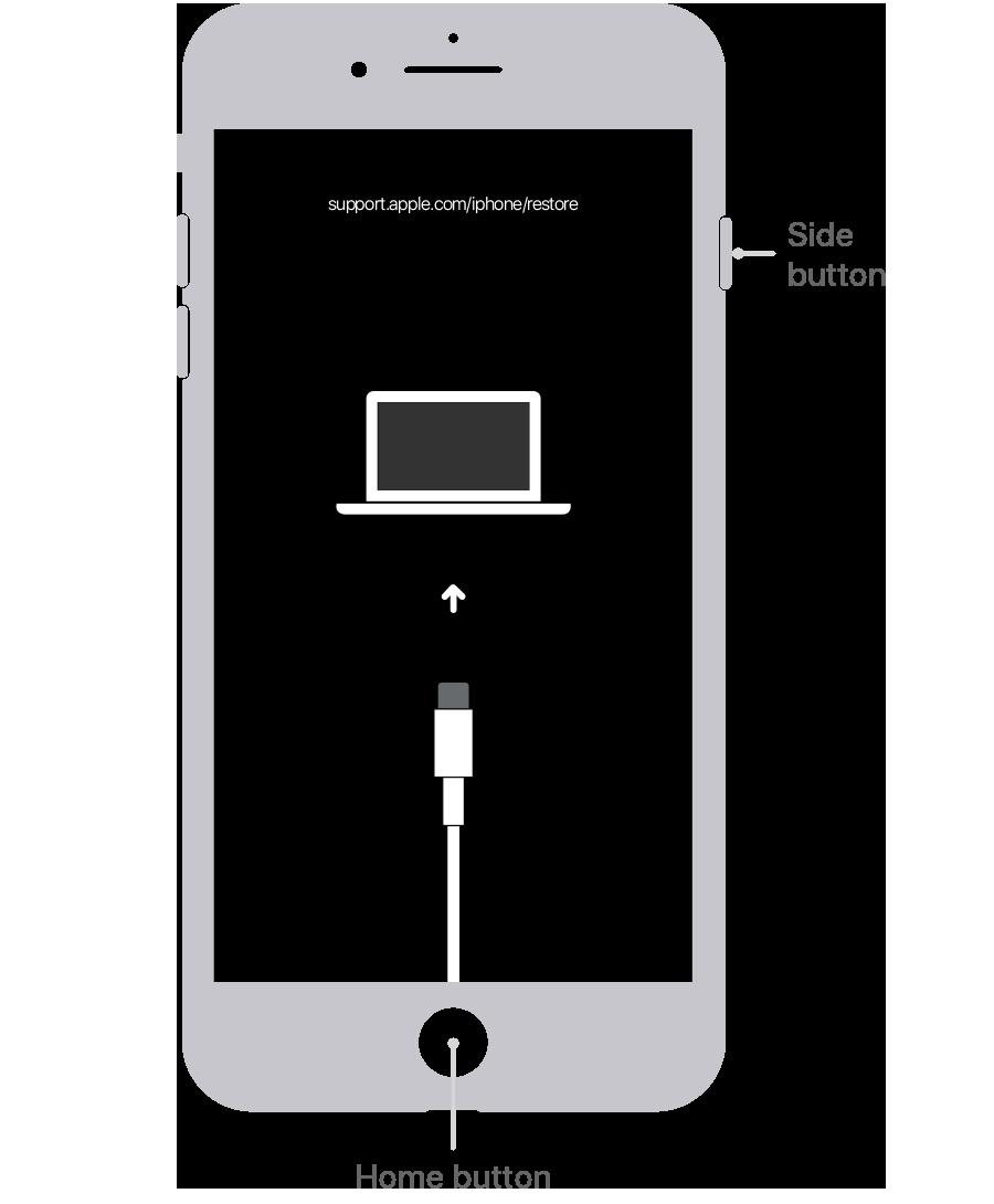 iPhone 6 Wiederherstellungsmodus