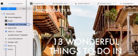 приложение для Mac Safari