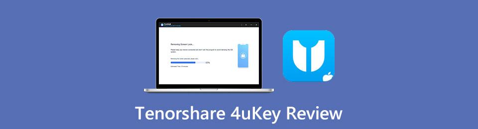 Tenorshare 4uKey評論–是4uKey最好的iPhone密碼解鎖器