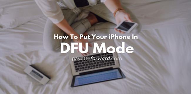 Jak wejść w tryb DFU