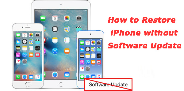 Przywróć iPhone'a bez aktualizacji