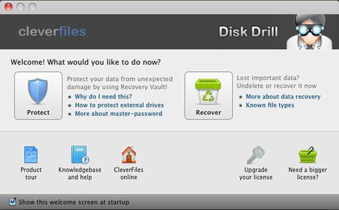Diskborrning för Mac OSX