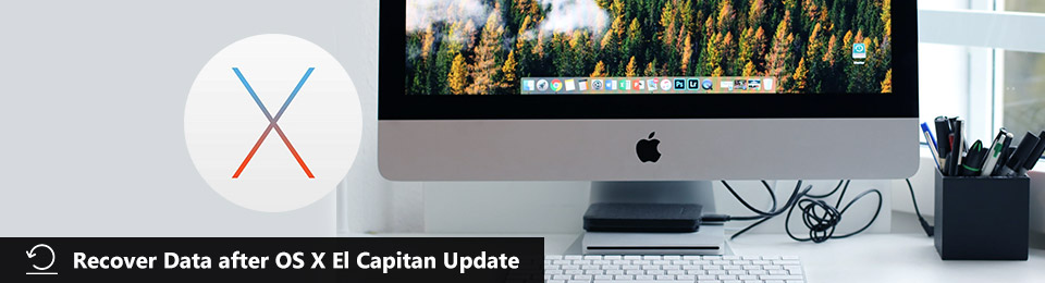 Recover Data after OS X El Capitan 10.11.6 Update