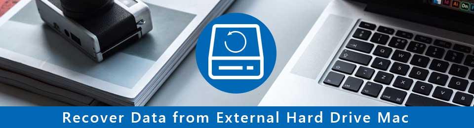 Gendan data fra ekstern harddisk på Mac