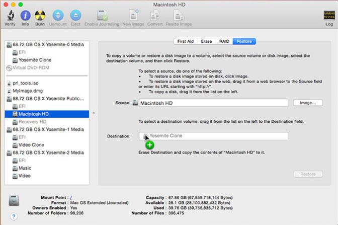 gendan mac harddisk disk utility