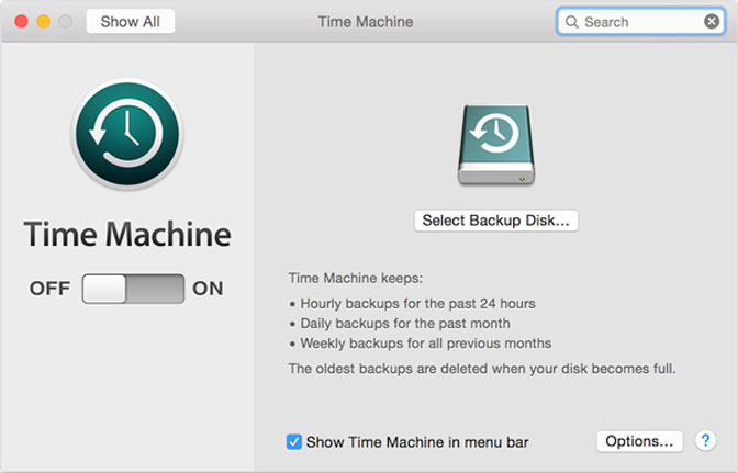 restaurar mac hd time machine