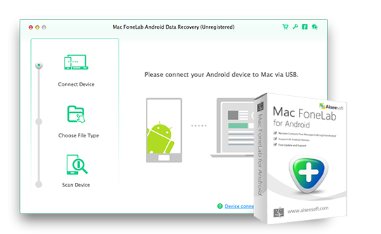 Mac FoneLab Android Data Recovery