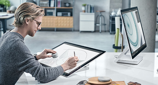Design auf Surface Studio