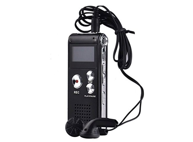 Aketek 650HR Digital Audio Voice Recorder