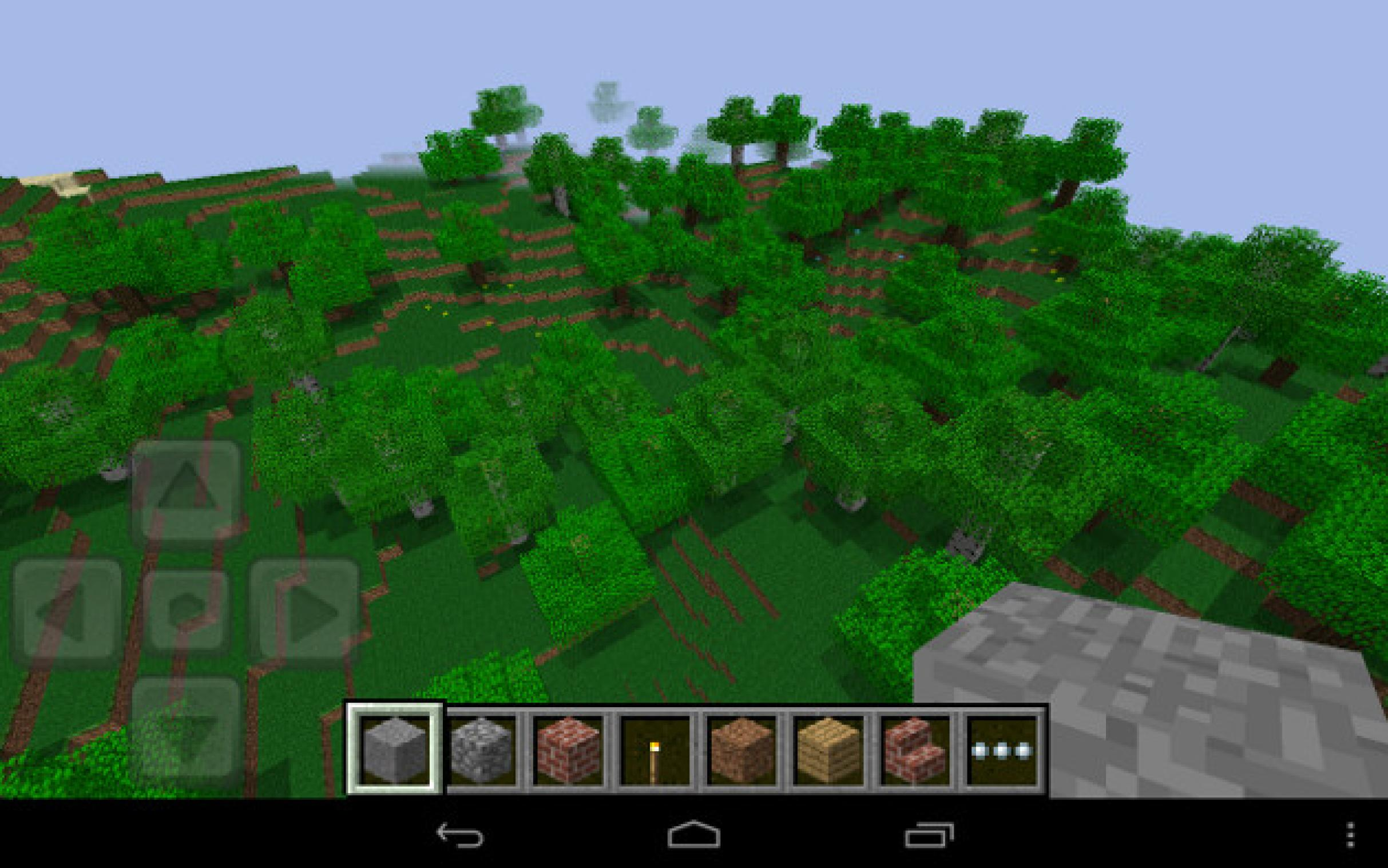 Android Nintendo Screenshot von Minecraft