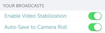 Periskop-Stream automatisch speichern