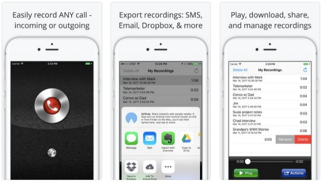opkald optager pro for iphone