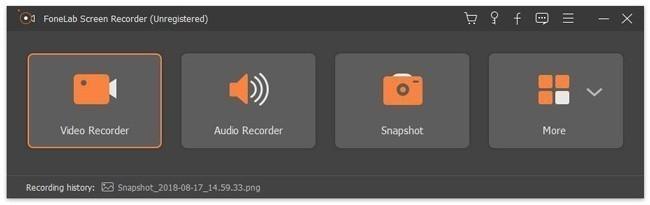 elegir grabadora de video