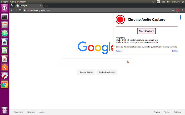 Chrome Audio Capture Plug-In