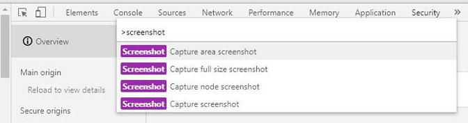 captura de pantalla de cromo