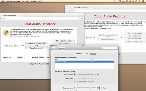 Cloud-Audiorecorder