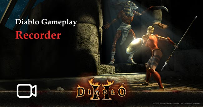Record High-quality Diablo 3 Gameplay with Webcam and Commentary