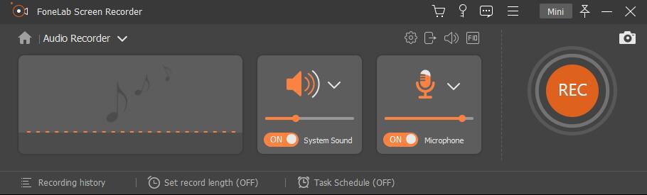 ajustar configurações de áudio