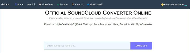 免費在線soundcloud轉mp3轉換器