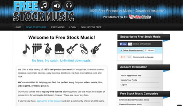 免費股票音樂