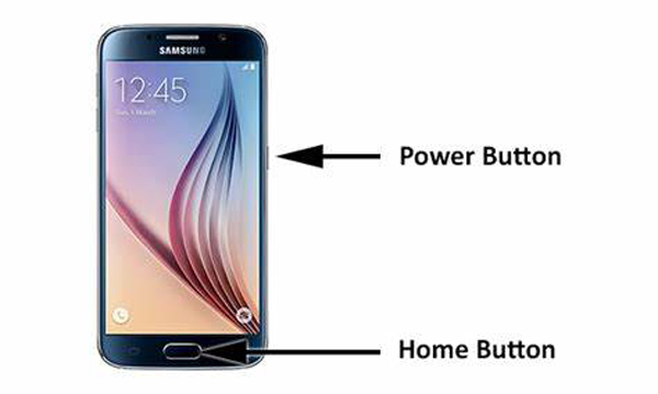 Take a Samsung Screenshot with Button Combination
