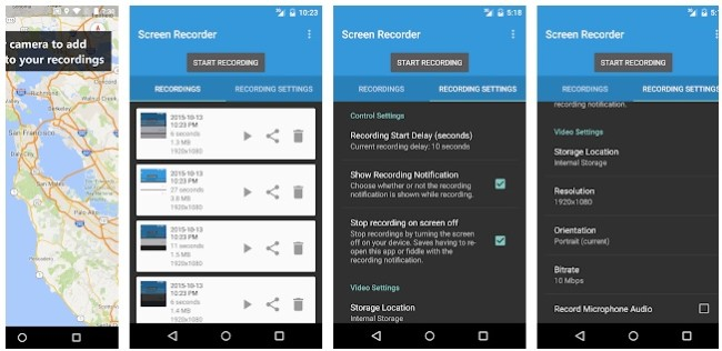 descargar lollipop screen recorder apk