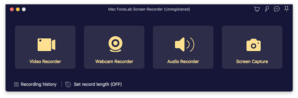 mac fonelab audio recorder