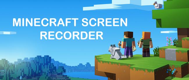 minecraft képernyő felvevő