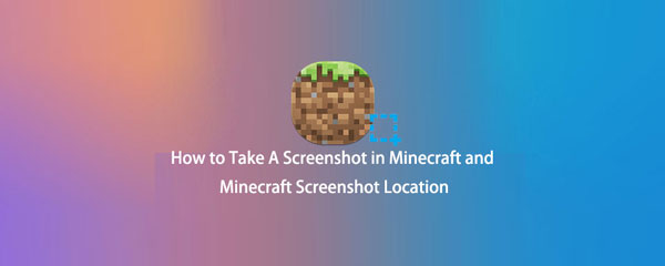 So machen Sie einen Screenshot in Minecraft und Minecraft Screenshot Location [2021]