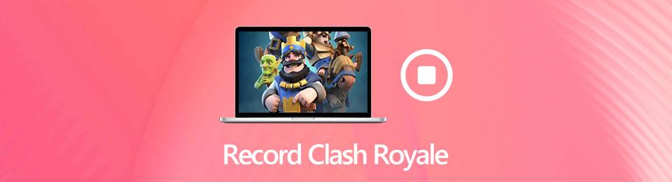 So nehmen Sie Clash Royale Gameplay Video und Audio ohne Verzögerung auf