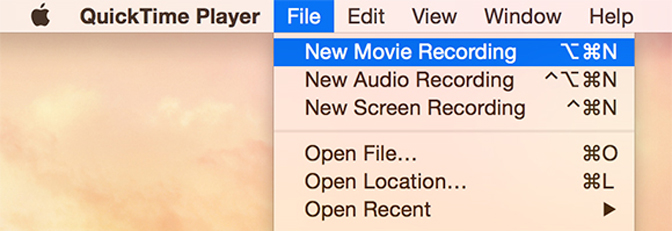 How to Record Gameplay on iPad quicktime new recording
