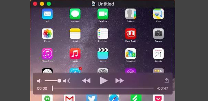How to Record Gameplay on iPad quicktime share