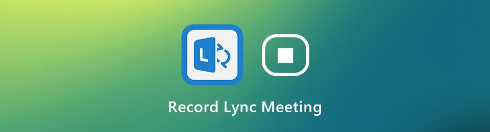 Aufzeichnen von Lync-Besprechungen und -Anrufen
