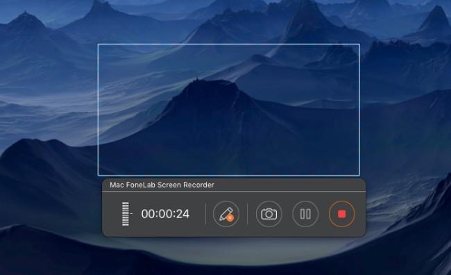 optagelsesskærm