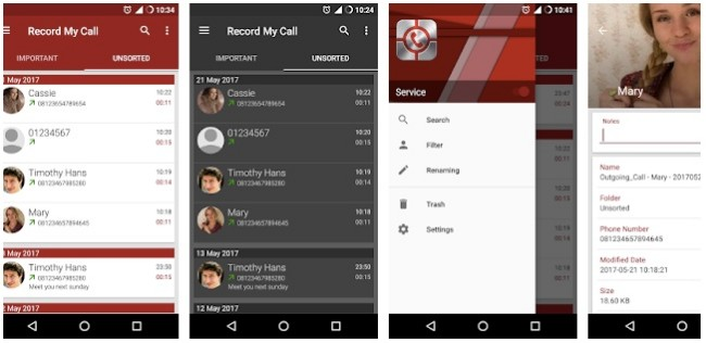 rmc android call recorder