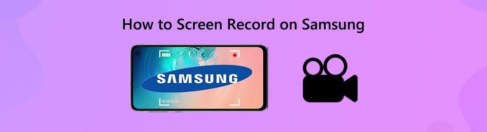 2 einfache Methoden zur Bildschirmaufnahme auf Samsung