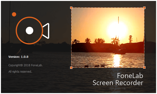 Fonelab Screen Recorder Screenshot