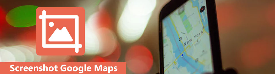 Tag et skærmbillede af Google Maps