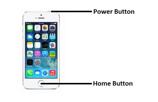 屏幕快照iPhone 5
