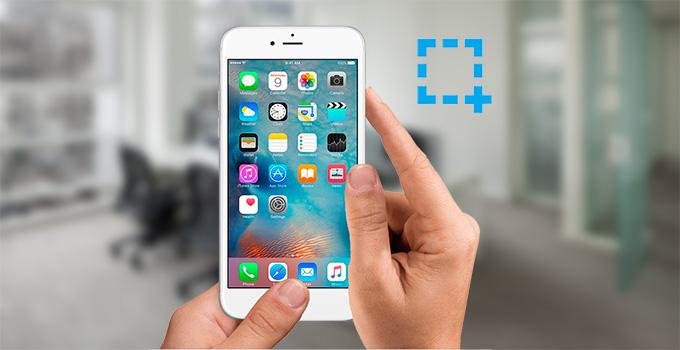 屏幕快照iPhone 6