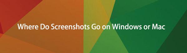 Wohin gehen Screenshots unter Windows oder Mac? [2021 gelöst]