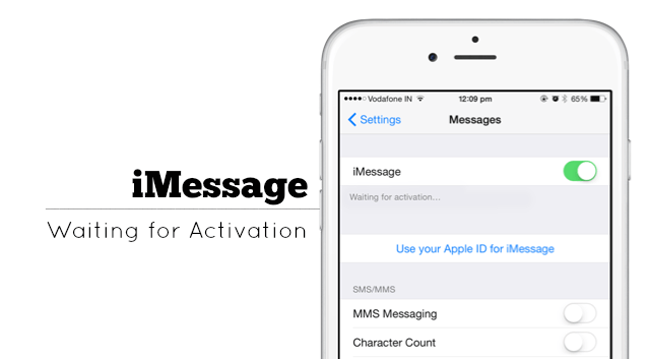 imessage activate