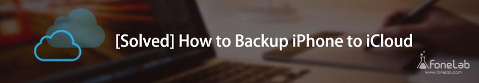 backup iphone στο icloud