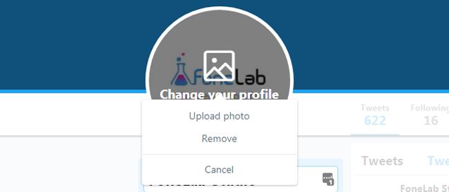 cambiar foto de perfil de twitter